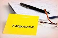 major reshuffle in excise and taxation department transfer 167 high officials