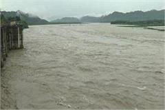 yamuna overflow effect seen in panipat area