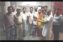 priyanshu reached railway station after the father s assault