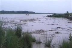yamuna river on overflow