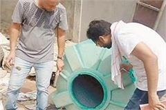 dengue larva found in 7 places in the city