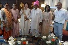 south korean president and his wife who came to meet geeta