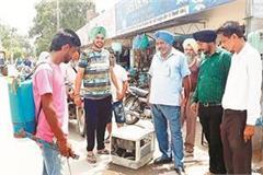 health department checks kabbadi s shops