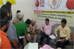 late night commotion blood bank recorded in jalandhar hospital seized