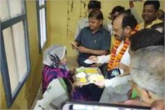 shahjahanpur hospital inauguration of canteen