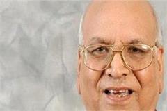 satyadev arya is bihar s veteran leader