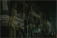 lucknow three storey building collapses in hazratganj