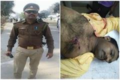 sub inspector shot dead in gorakhpur