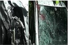 speeding car collided with bike