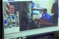 meerut creates new record live conversation with astronaut students