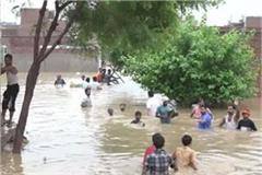 heavy rains in uttar pradesh and 17 people killed 165 have gone