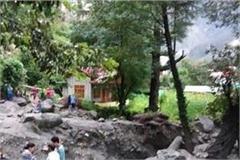 manikarna valley s turbulent storm blows in cloudburst