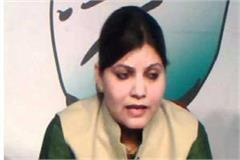 congress woman spokesman scared of scindia s behavior publicly expressed pain