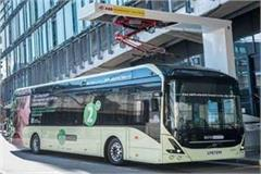 electric bus service between lucknow and kanpur from today