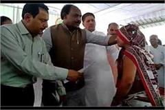 minister s veil raised by the minister in the mahfil