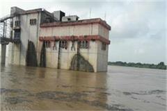 chambal boom threat of flood in 20 villages