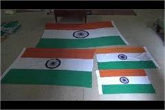 the color of artisans  hard work is reflected in the tricolor made of khadi