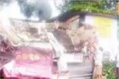 3 shops damaged by falling trees in nagrota