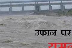 then there is a threat of flooding on yamuna