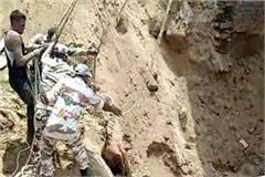 itbp jawans removed body after labor hard