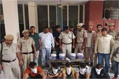 jind police big breakthrough arrest five dacoits