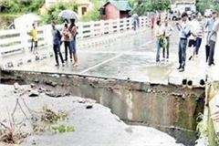 sadhupul road on cracks