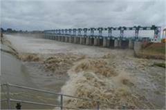 administration issued alert in villages adjacent to the river masan
