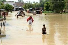 flooding in more than 24 villages of siddhartha nagar district