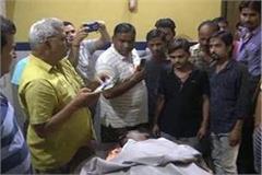 garment dealer shot dead