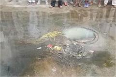 people get annoyed by sewerage in dev nagar