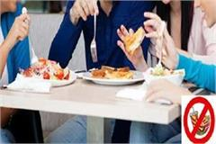 junk food will not be sold at colleges and