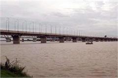 yamuna speed up ganga water level rise