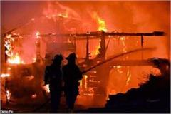noida loss of fire from garbage factory