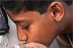 drinking water schemes jam from rain