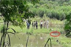hoshiarpur body of the youth found floating in the water