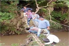 govt has shown it then it has made itself a jugaad bridge construction