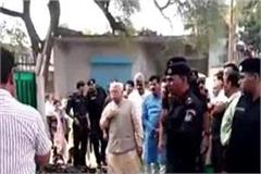 cm khattar arrived to the death of mla pawan saini