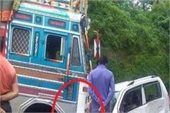 road accident on amb hamirpur nh