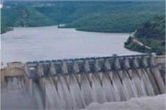 water increase in bargi dam