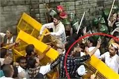 police lathicharge on himachal youth congress