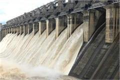 7 gate opened of bargi dam
