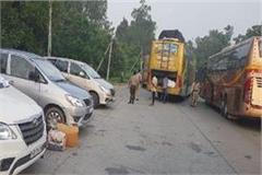 excise and taxation department private buses scraped