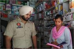 drug inspector checked drug stores