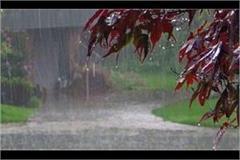 rainfall estimates in many places in uttar pradesh