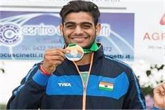trap shooter lakhsya won silver medal in 18th asian games 2018