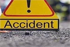 newborn baby died in raod accident