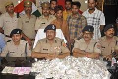 rs 7 lakh recovered including 43 kg silver jewelery looted from sarrapa