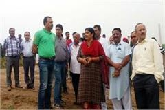 mla dc checked the preparations for the independence day celebration