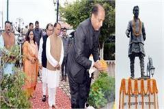 cm jairam gave big statement on the birth anniversary of himachal producer