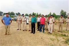 sp check the security arrangements about cm s visit